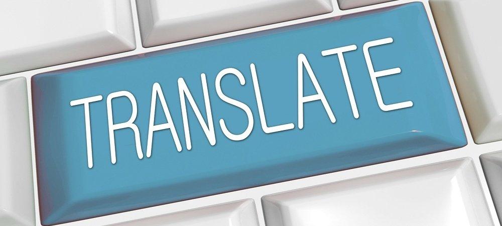 englisch - deutsch übersetzen